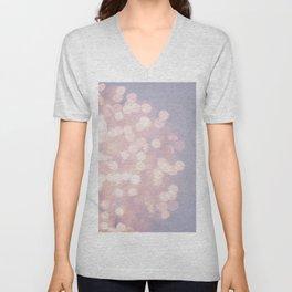 Soft pink lighs Unisex V-Neck