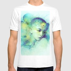 Fin Mens Fitted Tee White MEDIUM