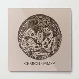Charon Sketch Metal Print