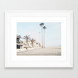 Newport mornings Framed Art Print
