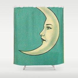 La Luna Card Shower Curtain