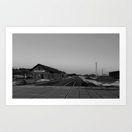 Old Flagstaff Rail Station Art Print