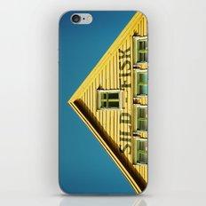 Sunny Yellow House iPhone & iPod Skin