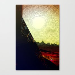 The Skytrain Canvas Print