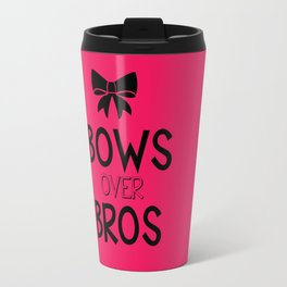 Bows over bros Travel Mug