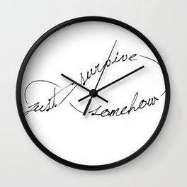 JSS Infinity Wall Clock