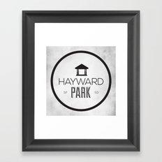 Hayward Park Framed Art Print