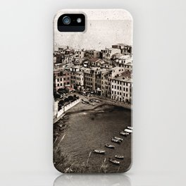 Vernazza {v.2 iPhone Case