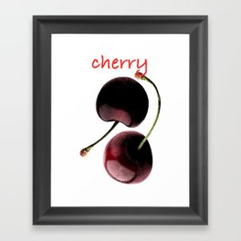 Cherry Framed Art Print