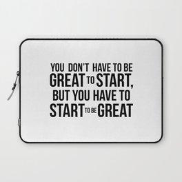 Start! Laptop Sleeve