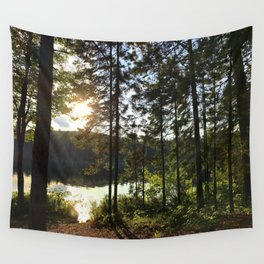 Portage through Algonquin Park, Ontario Wall Tapestry