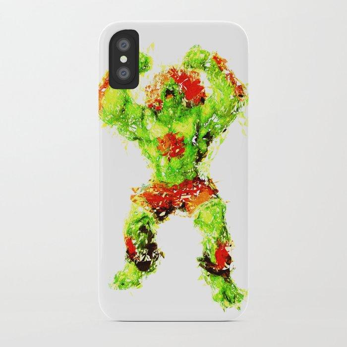 Street Fighter II - Blanka iPhone Case