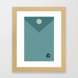 Le Chalet Framed Art Print