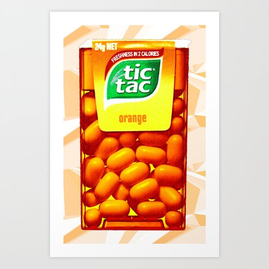 TIC TAC Art Print