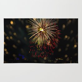 Firework collection 7 Rug
