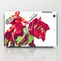 he man iPad Cases featuring he-man by BzPortraits