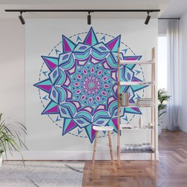 Love and Faith Mandala Wall Mural