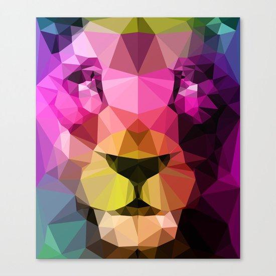 Wild Neon 01a. Canvas Print