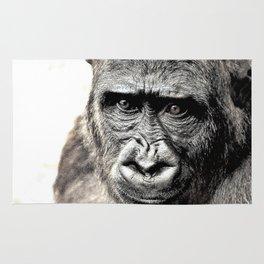Gorilla Sketch Rug