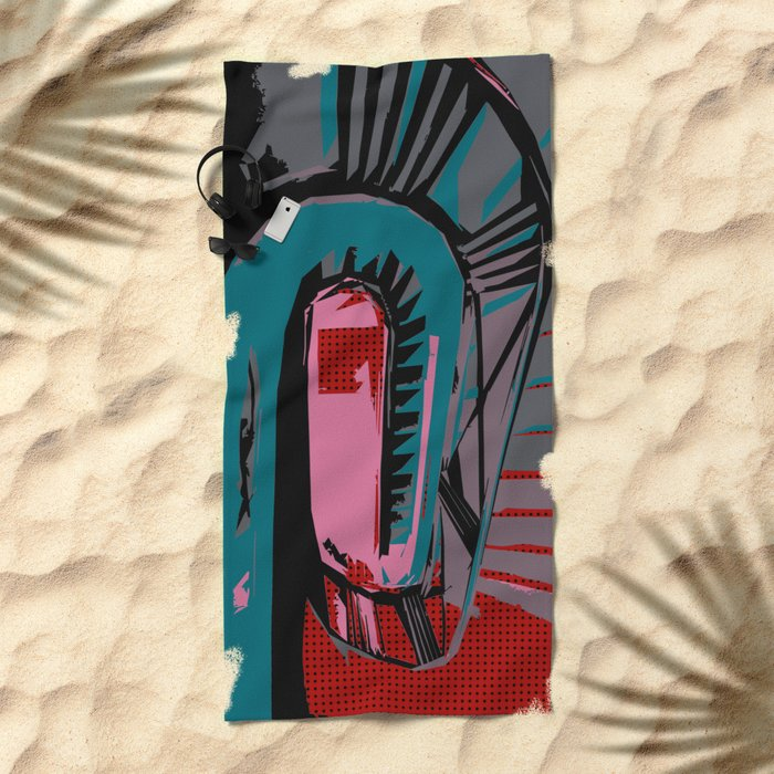 Coco's Staircase (Lost Time) Beach Towel