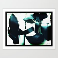 Shoes - Chanel II Art Print