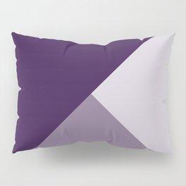 Gradient Geometry - Purple Pillow Sham