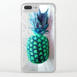 Pineapple Day Clear iPhone Case