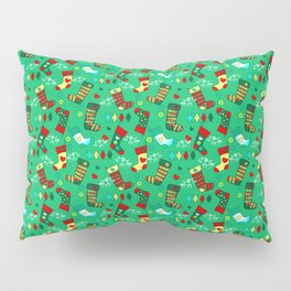 Christmas, Stockings Pillow Sham