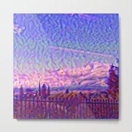 Florentine Sky Metal Print