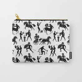 Greek Figures Carry-All Pouch