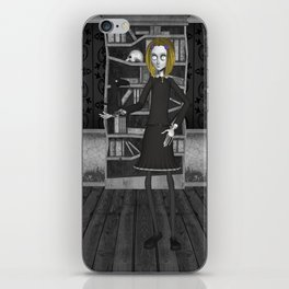 Lenore And The Raven Nevermore iPhone Skin