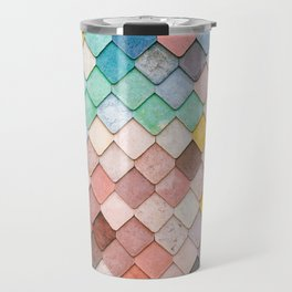 Bricks Full of Color Travel Mug