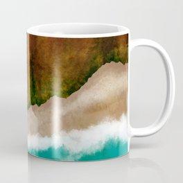 Aerial Coast View Coffee Mug