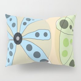 FLOWERY KATE / ORIGINAL DANISH DESIGN bykazandholly Pillow Sham