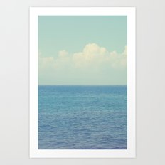 Vitamin Sea Ombre Art Print