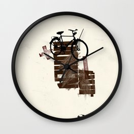 The Here 27/ Das Hier 27 Wall Clock
