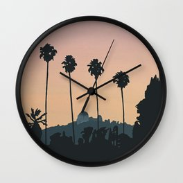 Franklin Avenue Wall Clock