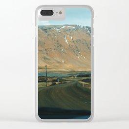 Vestfirðir II Clear iPhone Case