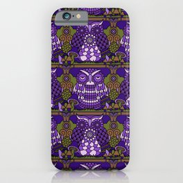 A Parliament of Owls Plum iPhone Case