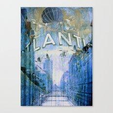 Goodbye Hamburg - Original revisited Canvas Print