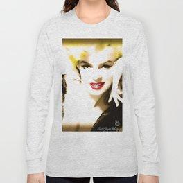 Portrait of  Marilyn Monroe Long Sleeve T-shirt