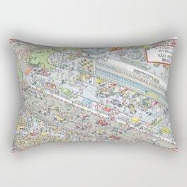 Formula 1, Interlagos Circuit, Sao Paulo, Brazil Rectangular Pillow