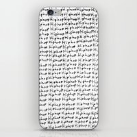hiphop iPhone & iPod Skins featuring HipHop  by Geryes