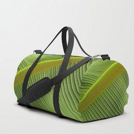 """""""Green Spring Big Leaf"""" Duffle Bag"""