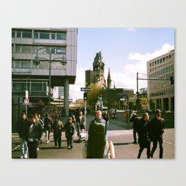 Sunny Street Berlin Canvas Print