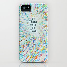 New Age Wisdom iPhone Case