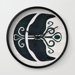 Odin's Ravens (Memory and Thought) Wall Clock