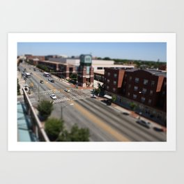 Richmond - Tilt Shift 2 Art Print