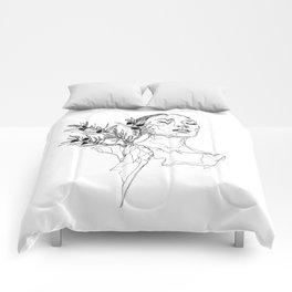 Olive (Black) Comforters