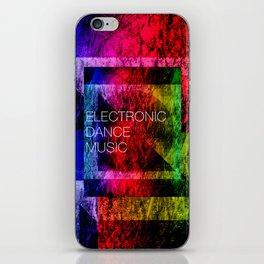 Electronic Dance Music iPhone Skin